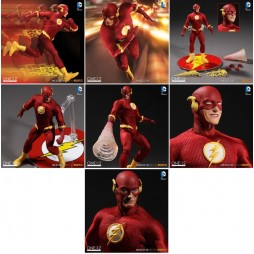 Mezco Toys - One Twelve Collective - DC Comics - Flash Comics Version - Action Figure - Cloth Version Scala 1:12