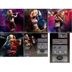 Mezco Toys - One Twelve Collective - DC Comics - Harley Quinn Suicide Squad Version - Action Figure - Cloth Version Scal
