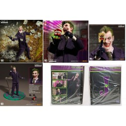 Mezco Toys - One Twelve Collective - DC Comics - The Joker Comics Version - Action Figure - Cloth Version Scala 1:12