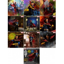Mezco Toys - One Twelve Collective - Marvel Comics - Doctor Strange Comics Version - Action Figure - Cloth Version Scala