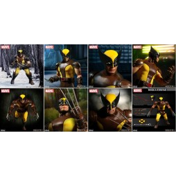 Mezco Toys - One Twelve Collective - Marvel Comics - Wolverine Comics Version - Action Figure - Cloth Version Scala 1:12