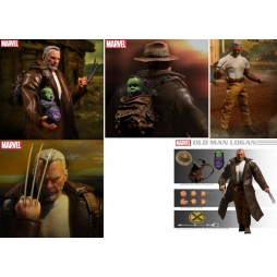 Mezco Toys - One Twelve Collective - Marvel Comics - Wolverine Old Man Logan Comics Version - Action Figure - Cloth Vers