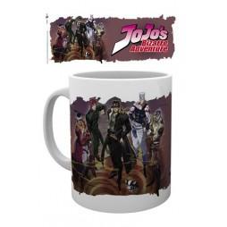 Jojo\'s Bizzarre Adventure - Tazza - Mug Cup - Jojo\'s Cast - Ceramic Mug