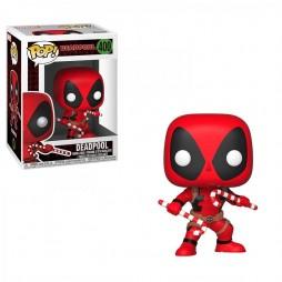 POP! Marvel 400 Marvel Universe Deadpool Double Candy Canes Deformed Vinyl Bobble-Head Figure