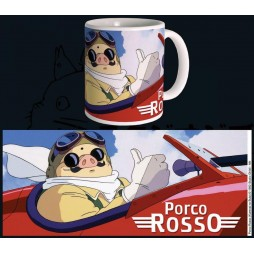 Studio Ghibli - Porco Rosso - Tazza - Mug Cup - Porco Rosso On Plane