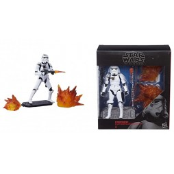 Star Wars - The Black Series - 04 - Vintage 6Inch - Stormtrooper with Blast Accessories - Hasbro