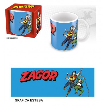 ZagorTazza - Mug - Cup - Bonelli Zagor & Chico Ceramic