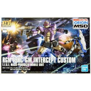 HG Gundam The Origin 023 - RGM-79KC GM INTERCEPT CUSTOM E.F.F.S.F. Mass Produced MOBILE SUIT 1/144