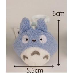 Il mio Vicino Totoro Plush - My Neighbour Totoro - Backpack hanger Clip Totoro Blue - mini Peluche 6 cm