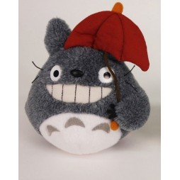 Il mio Vicino Totoro Plush - My Neighbour Totoro - Totoro Red Umbrella - mini Peluche 15 cm