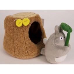 Il mio Vicino Totoro Plush - My Neighbour Totoro - Totoro Trunk Tree House - Peluche 24 cm