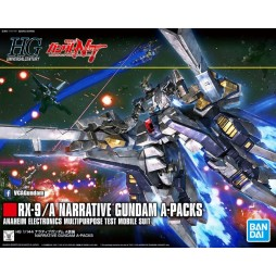 HG Universal Century 218 - HGUC - RX-9/A NARRATIVE GUNDAM A-PACKS ANAHEIM ELECTRONICS MULTIPURPOSE TEST MOBILE SUIT 1/14
