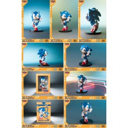 Sonic - Sonic Boom 8 Series Action Figure - Vol 1 Sonic