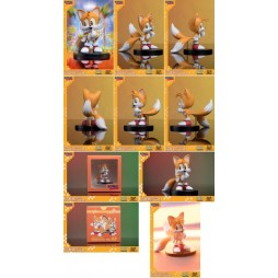 Sonic - Sonic Boom 8 Series Action Figure - Vol 3 Tails