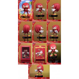 Sonic - Sonic Boom 8 Series Action Figure - Vol 4 Knuckles