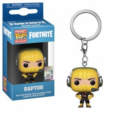 Pocket POP! - Fortnite - Raptor - Vinyl Figure Keychain