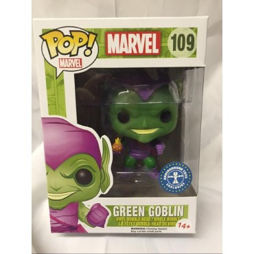 POP! Marvel 109 Spider-Man Green Goblin Underground Toys Exclusive Vinyl Bobble-Head Figure