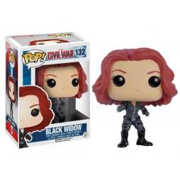 POP! Marvel 132 Captain America Civil War Black Widow Vedova Nera Vinyl Bobble-Head Figure