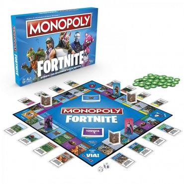 Monopoly: Fortnite Edition - Gioco di Società UFFICIALE In ITALIANO