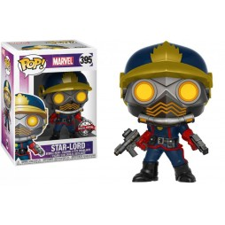 POP! Marvel 395 Guardians of the Galaxy Comic Ver. - Star-Lord - Vinyl Bobble-Head Figure
