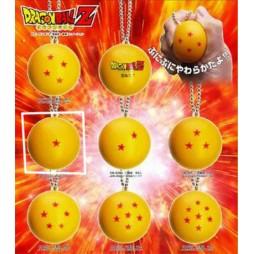 Dragon Ball Z - Strap - Portachiavi - Sfere del Drago Antistress - 1 stella