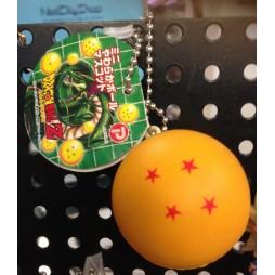 Dragon Ball Z - Strap - Portachiavi - Sfere del Drago Antistress - 4 stelle