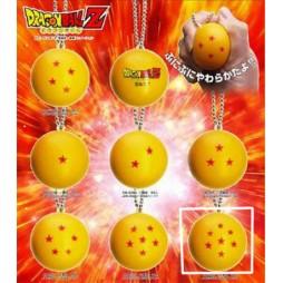 Dragon Ball Z - Strap - Portachiavi - Sfere del Drago Antistress - 7 stelle
