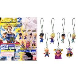 Dragon Ball Z - Strap - Portachiavi - Ultimate Deformed Mascot 02 - Strap SET - Complete Set of 7
