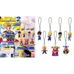 Dragon Ball Z - Strap - Portachiavi - Ultimate Deformed Mascot 02 - Strap SET - Fat Buu - Purple cape/ Turquoise mouth/