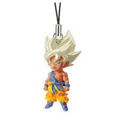 Dragon Ball Z - Strap - Portachiavi - Ultimate Deformed Mascot 04 - Strap SET - SS Goku