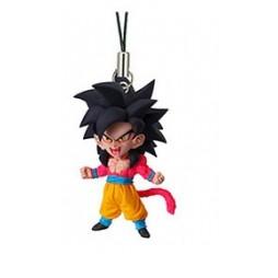 Dragon Ball Z - Strap - Portachiavi - Ultimate Deformed Mascot 04 - Strap SET - SS4 Goku - Matte black hair