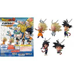 Dragon Ball Z - Strap - Portachiavi - Ultimate Deformed Mascot Burst 09 - Strap SET - Complete SET of 5