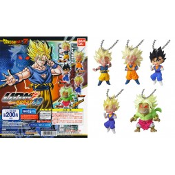 Dragon Ball Z - Strap - Portachiavi - Ultimate Deformed Mascot Burst 13 - SSJ Goku