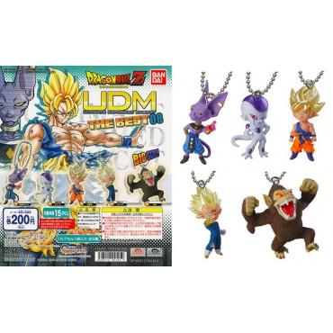 Dragon Ball Z - Strap - Portachiavi - Ultimate Deformed Mascot The Best 08 - Complete Set of 5