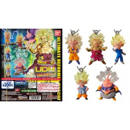 Dragon Ball Z - Strap - Portachiavi - Ultimate Deformed Mascot The Best 14 - Complete SET of 5