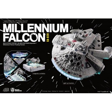 Star Wars - EA 0120 - EP.V Millennium Falcon - Egg Attack Magnetic Floating Version HOTH