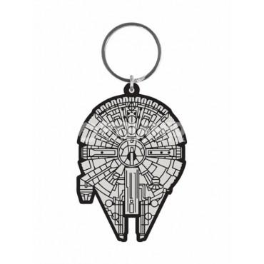 Star Wars - Keyring 2D - Rubber - Millennium Falcon Gummy Keyring