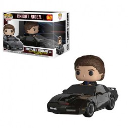 POP! Rides 50 Knight Rider Michael Knight With K.I.T.T.