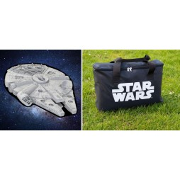 Star Wars - Picnic Rug - Copertura Impermeabile Per Picnic - Millennium Falcon - The Monster Factory