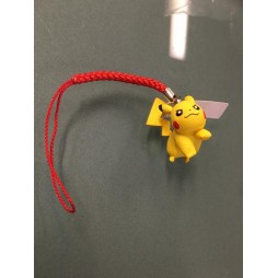 Pokemon BW movie 2012 strap PIKACHU