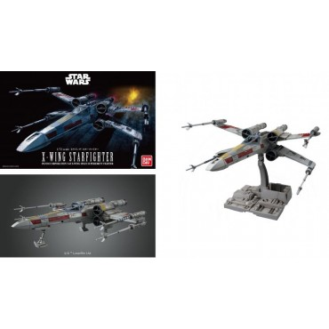 Star Wars - PG - Perfect Grade - Ep. IV A New Hope Incom Corp. T-65 X-Wing Space Superiority Fighter - X-Wing Starfighte