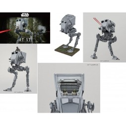 Star Wars - PG - Perfect Grade - Ep. VI R.O.T.J. Imperial All Terrain Scout Transport Walker - AT.ST. - Revell/Bandai -