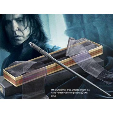 HARRY POTTER - Bacchetta Magica Harry Potter Wand - Serverus Snape (Severus Piton) - Noble Collection NN7150