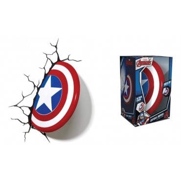 Marvel - Captain America - 3D Ambient Light - Captain America\'s Shield - Scudo
