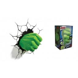 Marvel - Hulk - 3D Ambient Light - Hulk\'s Fist - Pugno Hulk