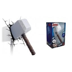 Marvel - Thor - 3D Ambient Light - Mjolnir Hammer - Martello Thor