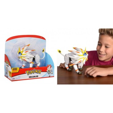 Pokemon - POKEMON SOLE LUNA LEGENDARY - #791 Solgaleo action figure