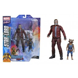 Marvel Select - Guardians Of The Galaxy Vol. 2 - Star-Lord and Rocket Raccoon