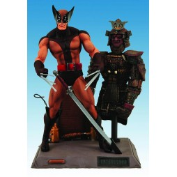 Marvel Select - Wolverine Brown Unifrom Comic Version - Action Figure