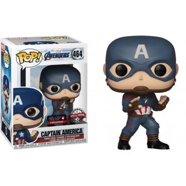 POP! Marvel 464 The Avengers Endgame Captain America Vinyl Bobble-Head Figure
